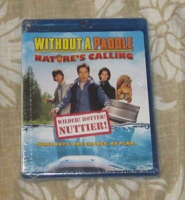 WITHOUT A PADDLE NATURE'S CALLING BLU-RAY DISC BRAND NEW FREE SHIP](without a paddle blu ray)
