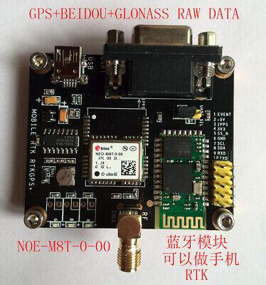 Ublox Neo-m8t Gps Beidou Glonass Raw Data Module For Rtk Case Gps Antenna