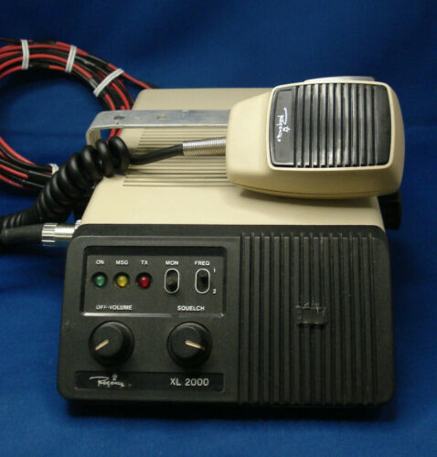 Rare Regency XL2000 VHF-Hi 2 Channel 25 Watt Transceiver - Tested - Works!
