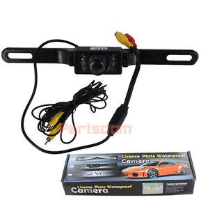 CMOS-Car-Rear-View-Reverse-Backup-Parking-Camera-Night-Vision-Waterproof-7-LED