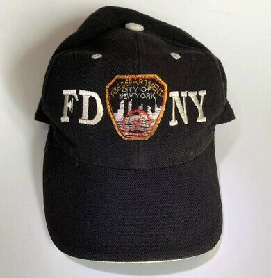 5699a0640 Fire Department City Of New York FDNY Adjustable Cap Black