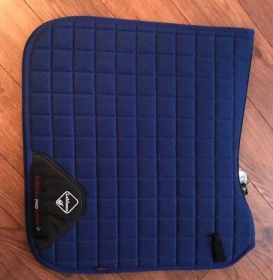 LeMieux Prosport 3D Mesh Dressage Pad Benetton Blue