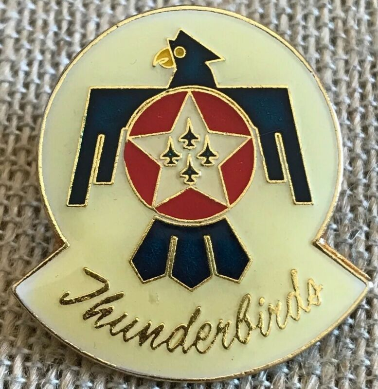 Vintage Thunderbirds US Airforce Pin
