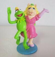 Vintage Kermit the Frog & Miss Piggy PVC Figures Cake ...