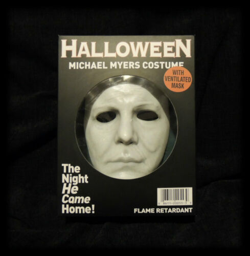 Michael Myers Halloween Mask 1978 Collectors Box / Rare