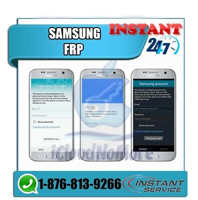 Instant Remote FRP Google Account Removal For All Samsung Models // 5-10 Minutes