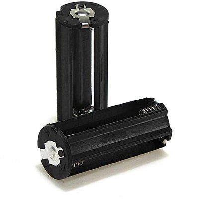 x2 Boitier Bloc Support Coupleur 3 Pile AAA 3.6V 4.5V LR03 pour Lampe Torche