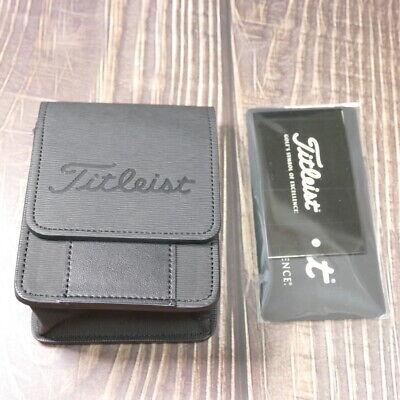 2021 New Titleist Genuine Distance Meter Black Color Case TA9ACRFCK-0