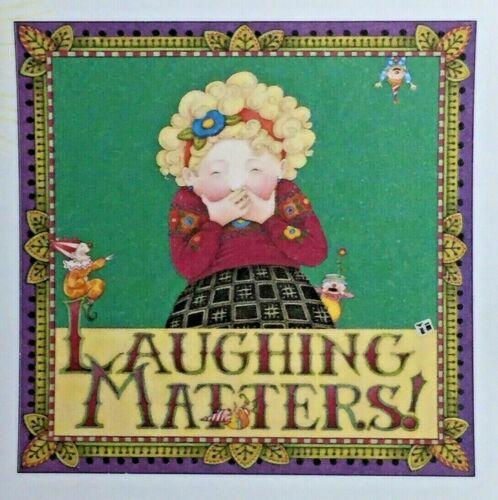 Mary Engelbreit Handmade Magnet-Laughing Matters
