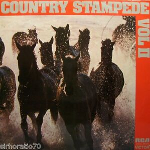 COUNTRY-STAMPEDE-OZ-LP-Nev-Nicholls-Buddy-Williams-John-Laws-Hamilton-Blue
