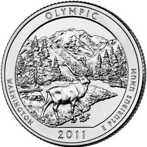 2011 P Olympic National Park Quarter Washington
