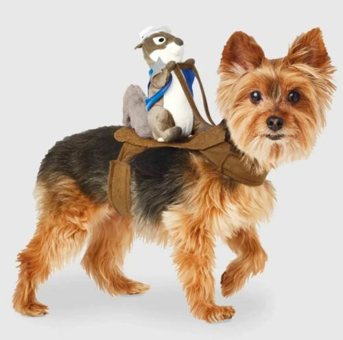 Sheriff Squirrel Rider Halloween Dog and Cat Costume - XS/S-Hyde & EEK! Boutique