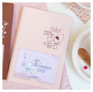 New Pony Brown Diary Journal Planner Organizers for 2013 + Calendar Card