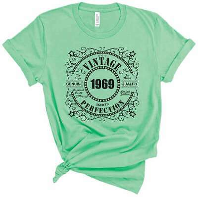 Customizable Birthday Gift T Shirt 50th Birthday 1969 50 Years Old bday tees (50th Bday)