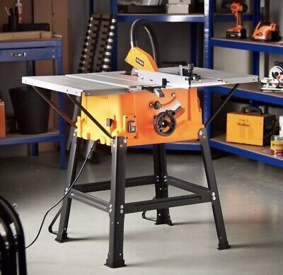 Saw Table 220v Precision Cuts Sturdy Under Frame DIY Powerful Strong Best