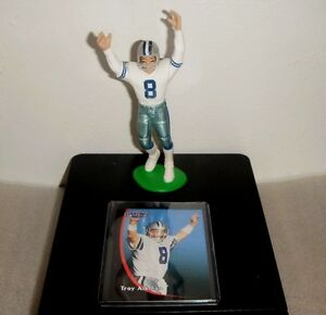 Troy-Aikman-Dallas-Cowboys-1998-Starting-Lineup-Figure-w-Collector-Card