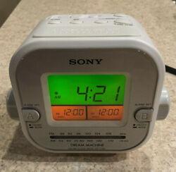 Sony Dream Machine Dual Alarm Clock-Radio ICF-C180 AM/FM TESTED WORKS GREAT!!!