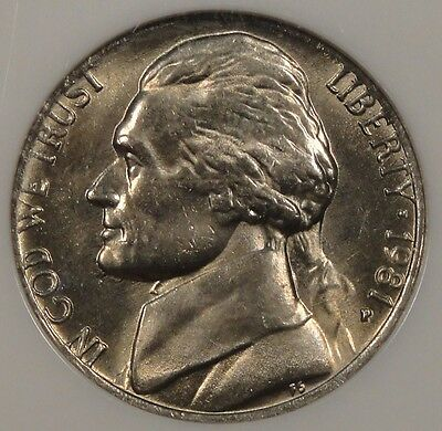 Click now to see the BUY IT NOW Price! 1981 JEFFERSON NICKEL NGC MS 67