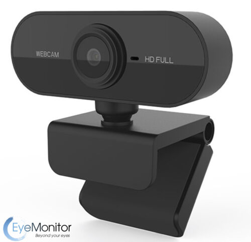 Web Camera 1080P Built-in Microphone Full HD, Computer Webcam USB for Video Conf