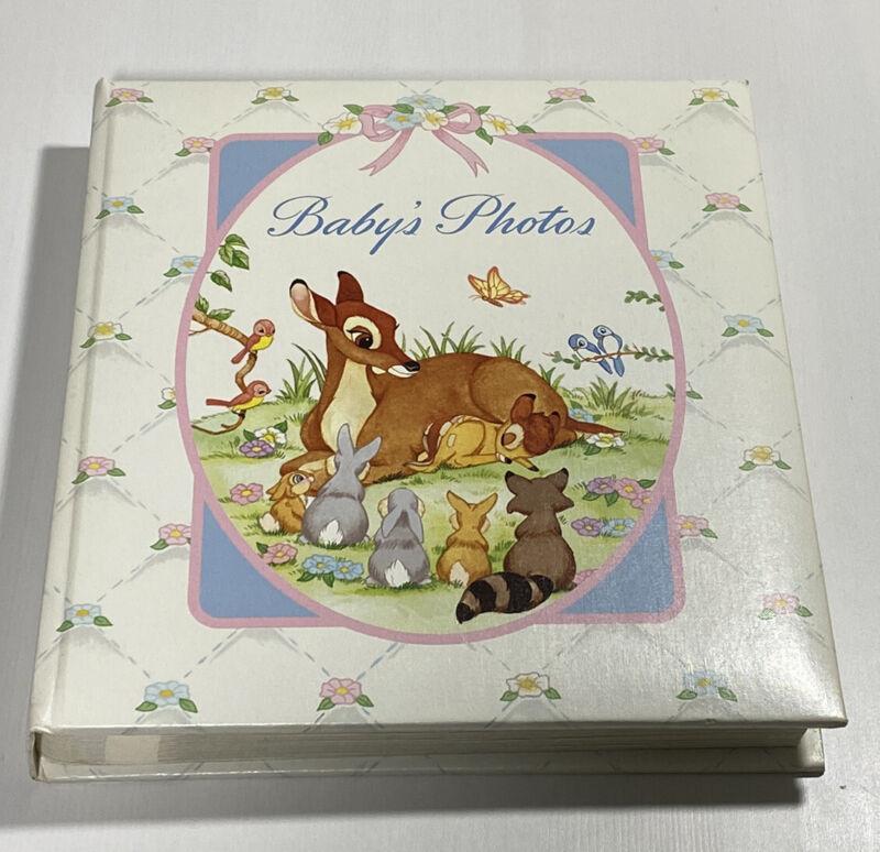 Disney Babies Bambi Collection CR Gibson Photo Book Memory Album VTG
