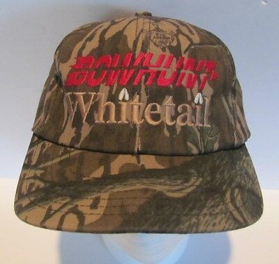 Mossy Oak Logo - Mossy Oak TreeStand BowHunt Whitetail Hat Cap Snap Back 1 size