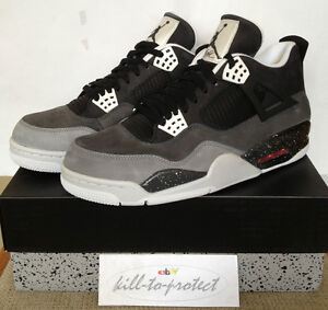 NIKE-JORDAN-4-FEAR-PACK-Sz-US-UK-7-8-9-10-11-12-13-Grey-626969-030-DB-BRED-2013