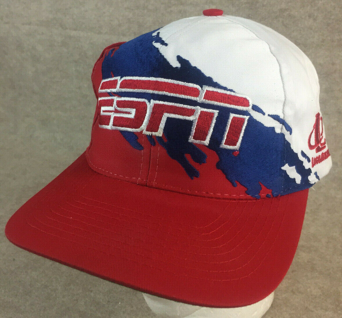 Vintage Logo Athletic ESPN Splash Snapback Rare Re
