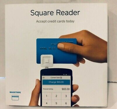 Square Reader Magstripe - Accept Credit Cards Today - New