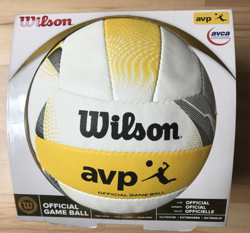 Wilson AVP Official Game Ball Beach Volleyball WTH6007 BAS Outdoor