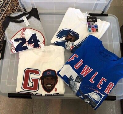 Dexter Fowler Personal Items Collections- Kids shirts size 4-6
