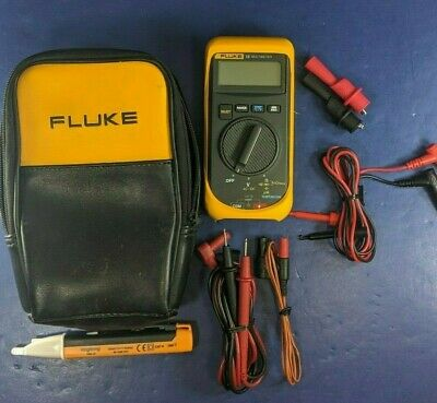 Fluke 16 Multimeter Excellent Soft Case Accessories