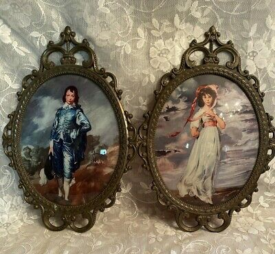 2 Frames 2 x Glass Curved Picture Photo Frame