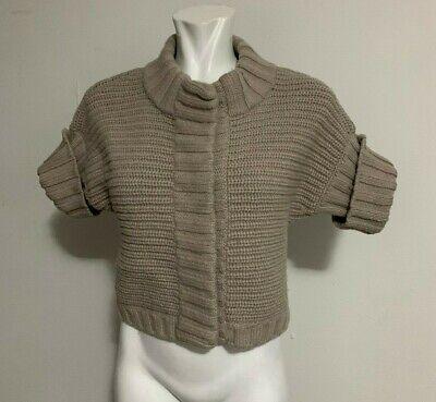maglione cardigan donna in lana taglia M