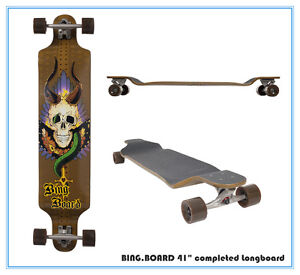 New-Bingboard-Skateboard-Maple-Deck-Complete-Longboard-41-2012-popular-style