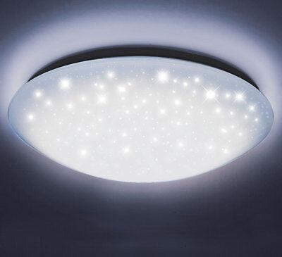 24W 40cm Decken Wand Leuchte Led Bad Lampe Sternen-Licht Glitzer-Lampe Kaltweiß