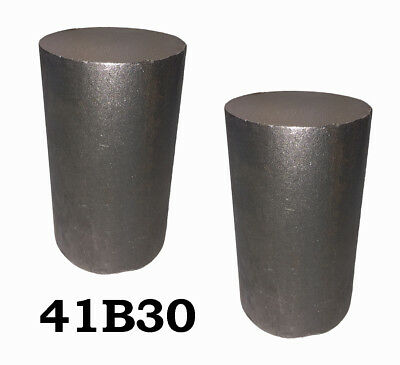 4 Round 4130 Steel Alloy Boron Rolled Bars Billets 2 6-7 Long 41b30 Hl