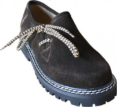 Trachten Schuhe Für Kinder (German Wear, Kinder Haferlschuhe Trachtenschuhe für Trachten Lederhosen Braun)