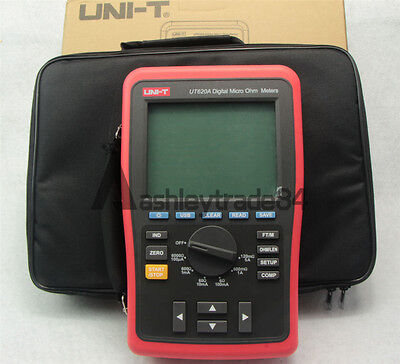 Uni-t Ut620a Digital Micro Ohm Meters Ohms - Multimeter New