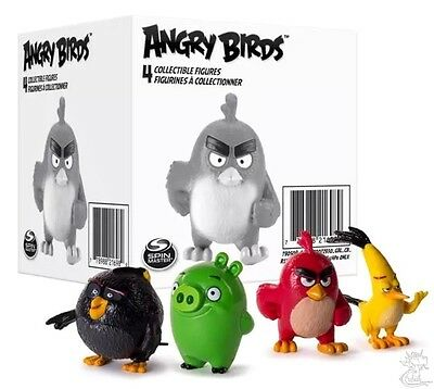 Angry Birds Collectible Figures 4-Pack New