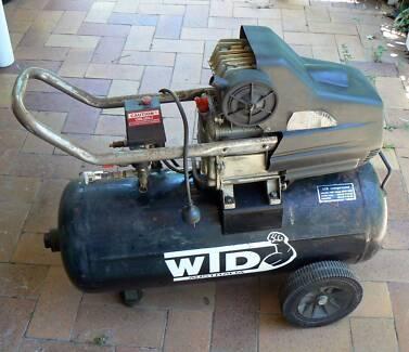 WTD AIR COMPRESSOR 2.5 HP 210 LPM 50 Litre tank