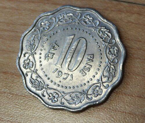1971 India 10 Paise