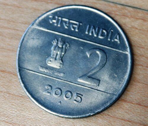 2005 India 2 Rupees