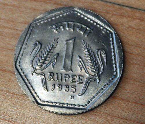 1985 India 1 Rupee