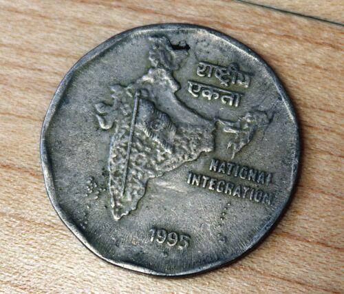 1995 India 2 Rupees