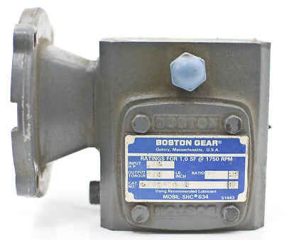 Boston Gear 700 Series 151 Ratio Right Angle Gear Reducer