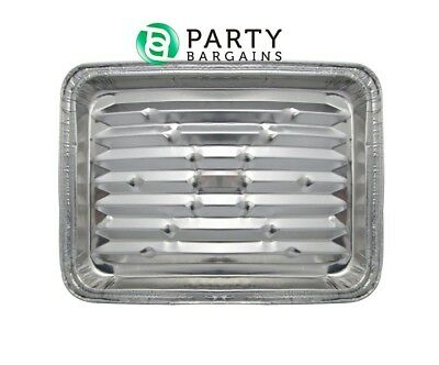 Aluminum Broiler Pan, Disposable Aluminum Grill Liner. Set o