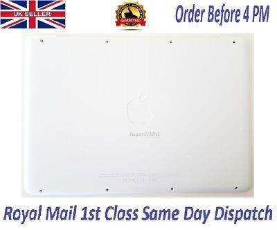 """New A1342 Apple Macbook 13"""" Unibody Bottom Case Rubber Lid Cover Door 2009 2010"""