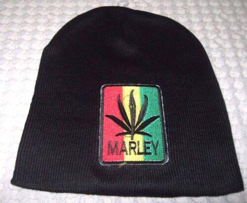Bob-Marley-RASTA-Red-Yellow-Green-Embroidered-Name-Beanie-Ski-Cap-Beanie-New-v2