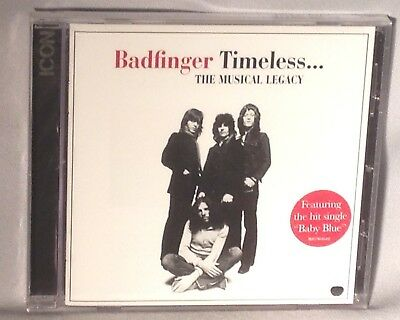 CD BADFINGER Timeless The Musical Legacy (ICON Greatest Hits) NEW MINT - Legacy Greatest Hits