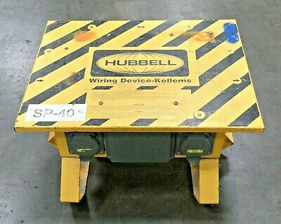 Hubbell Sbsb2 Wiring Device Portable Power Distribution Box 50 A 120240vac